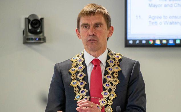 Wellington Mayor Andy Foster. (Photo / NZ Herald)