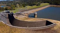 Auckland's dams are now 83 per cent full, a big jump on 61 per cent a month ago. (Photo / File)