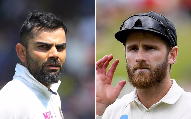Virat Kohli (L) and Kane Williamson, two of the best batsmen in world cricket, will face off in Southampton. (Photos / Photosport)