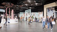 Plans for the new 120-shop discount fasion hub at the airport. (Photo / Auckland Airport)