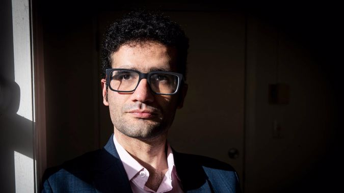 Arsalan Abdollahi claims he was racially profiled by the TSB Bank after they closed his account due to his joint Iranian citizenship. Photo / Jason Oxenham