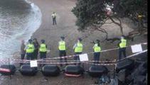 Police arrest three at Waiheke Island marina protest