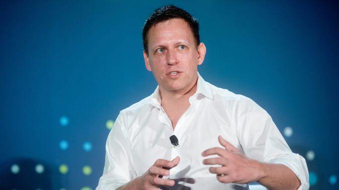 US billionaire and Kiwi citizen Peter Thiel. (Photo / Noah Berger)