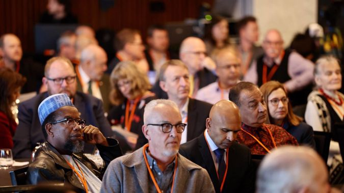 He Whenua Taurikura, New Zealand's hui on countering terrorism and violent extremism, has opened in Christchurch this morning. (Photo / George Heard)