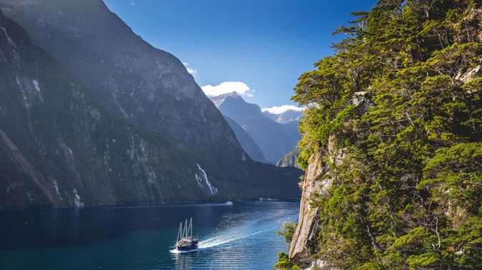 Milford Sound is set for change, with the possibility of a ban on fixed-wing aircraft, overseas visitors having to pay to enter the area and a ban on cruise ships in the inner sound. (Photo / Supplied)