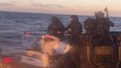 Dru Baggaley and another man were arrested after a high seas chase where bundles of cocaine were thrown into the ocean as authorities pursued them. (Photo / Supplied)