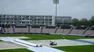 Rain check: Blackcaps forced to wait in soggy start to final