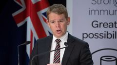 Covid-19 Response Minister Chris Hipkins said the latest shipment would allow the rollout to start to ramp up. Photo / Mark Mitchell