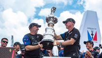 Sir Stephen Tindall retires as chairman of Team NZ