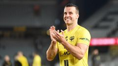 Steven Taylor was instrumental in returning the Phoenix to playoff football for the first time in four years. Photosport.
