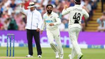 Blackcaps fight back from slow start of second test against England
