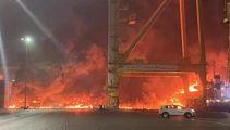 Watch: Massive explosion in Dubai