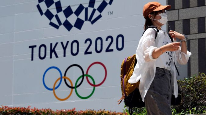 The number of positive Covid cases among those accredited for the Tokyo Olympics has risen to 67. (Photo / AP)