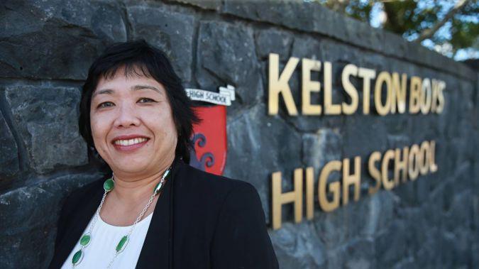 Kelston Boys High School principal Adeline Blair. (Photo / Doug Sherring)