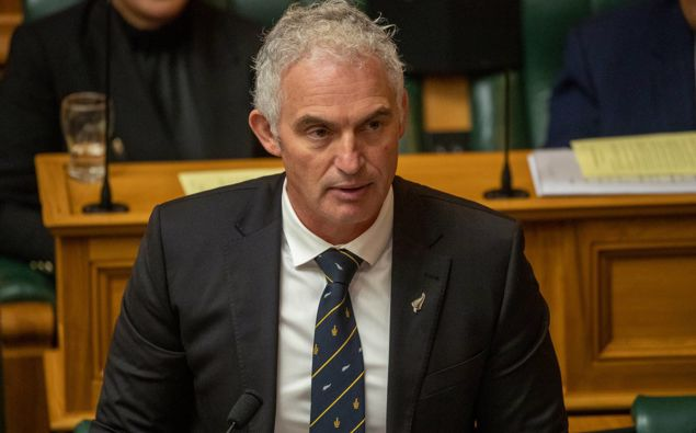 Tourism Minister Stuart Nash filled in for an unwell Kris Faafoi. (Photo / NZ Herald)