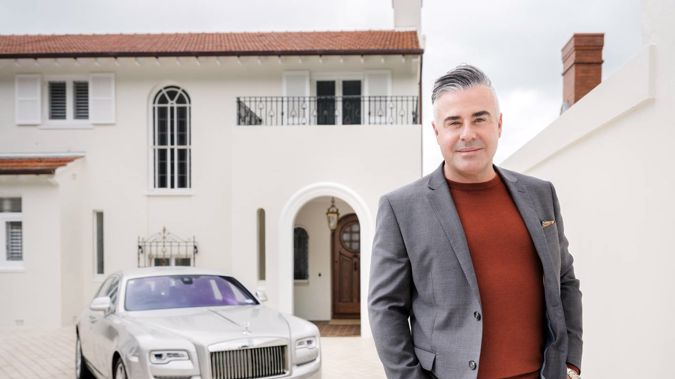 Michael Boulgaris heads up luxury property firm Boulgaris Realty. (Photo / Ted Baghurst)