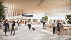 Auckland Airport has plans to build a new domestic jet hub when travel recovers. (Image / Supplied)