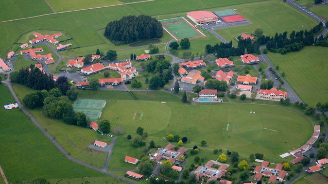 An aerial view of St Peter's School in Cambridge. (Photo / File)