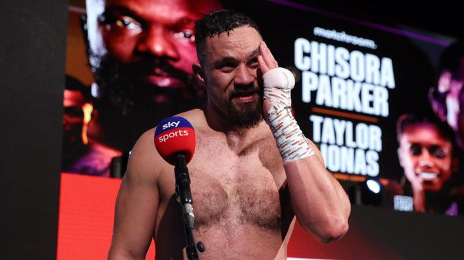 Joseph Parker's trainer Andy Lee also trains with Tyson Fury. Photo / Photosport