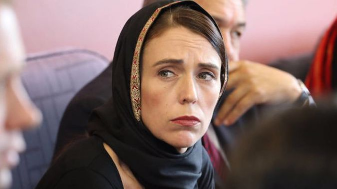 Prime Minister Jacinda Ardern meets with Muslim community in Christchurch. (Photo / Getty Images)