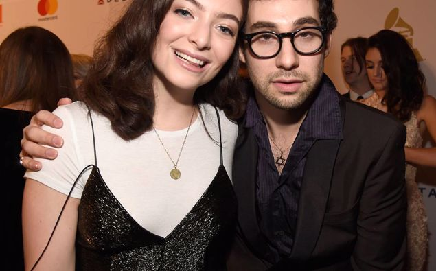 Lorde (right) and Jack Antonoff, who produced Lorde's hit 'Green Light' (Photo / NZH)