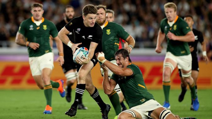 The All Blacks' two home tests against the Springboks have been cancelled. (Photo / Getty Images)