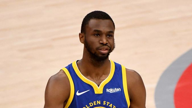 Andrew Wiggins of the Golden State Warriors. Photo / Getty