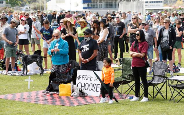 Northland man charged in relation to mass protest on Super Saturday