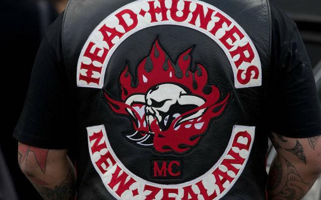 Head Hunters patch. (Photo / NZ Herald)