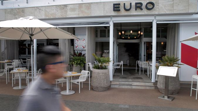 Euro restaurant has become a casualty of Covid-19. (Photo / NZ Herald)