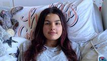 Teen battling brain cancer raises $350k, loses consciousness