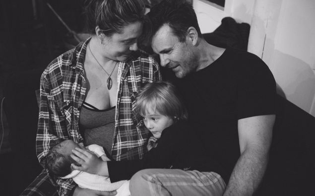 Zoe Naylor and Aaron Jeffrey have explored the birth system for a new documentary. (Photo / Supplied)
