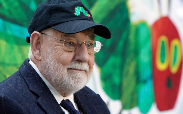 Eric Carle, author of 'The Very Hungry Caterpillar' in 2009. Photo / AP