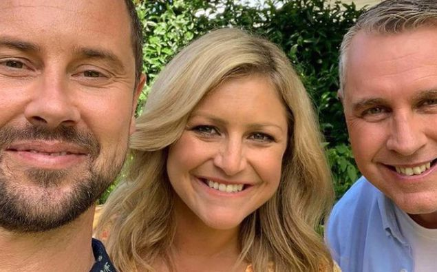 Toni Street with her fellow Coast presenters Sam Wallace and Jason Reeves. (Photo / Instagram)