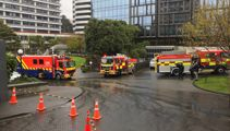 Suspicious parcel arrives at Parliament, fire crews on scene