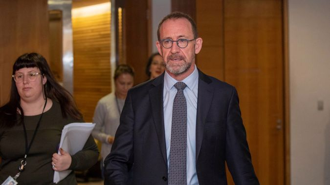 Health Minister Andrew Little revealed the next step in his health system reforms in a speech to a GPs' conference today. (Photo / Mark Mitchell)