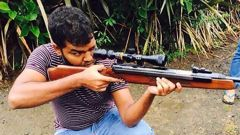 Aathill Samsudeen in an image taken from his social media accounts. (Photo / Supplied)