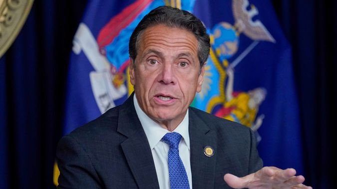 The Albany County Sheriff's office says a woman who accused New York Governor Andrew Cuomo of groping her breast has filed a criminal complaint against him. (Photo / AP)