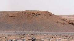 Image captured by the Perseverance rover on Mars. (Photo / CNN)