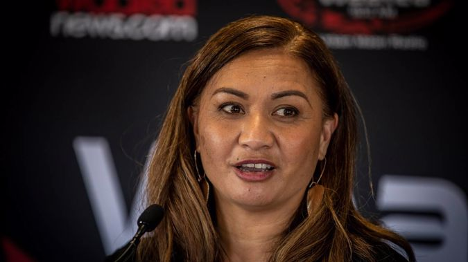 Minister for the prevention of family violence and sexual violence, Marama Davidson. (Photo / File)