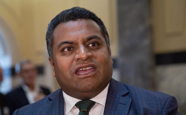 Justice Minister Kris Faafoi. (Photo / Mark Mitchell)