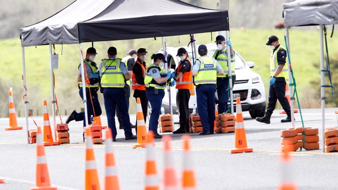 A woman travelled across the Auckland/Northland border in the boot of a car. (Photo / Michael Cunningham)