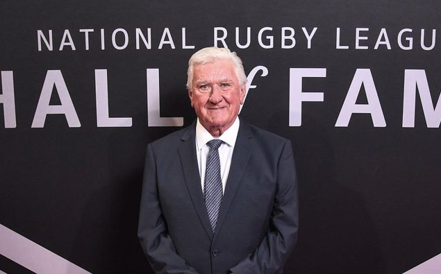 Beloved commentator Ray Warren was inducted into the NRL Hall of Fame in 2019. (Photo / Getty)