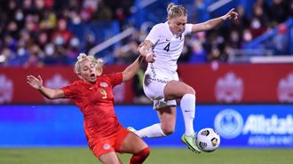 Football Ferns improve but fall to another loss
