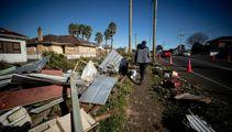 Jacinda Ardern visits Papatoetoe to assess tornado damage