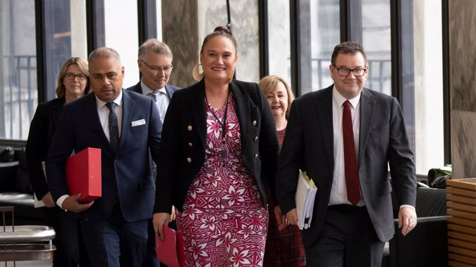 """Social Development Minister Carmel Sepuloni says the latest drop in benefit numbers signalled a """"milestone"""" in the Covid-19 recovery. (Photo / Mark Mitchell)"""