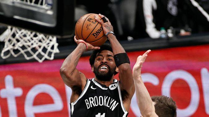 Brooklyn Nets guard Kyrie Irving. Photo / AP