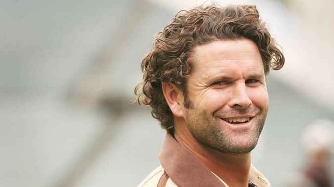 Chris Cairns on February 14, 2006 - the day he announced he would retire from international cricket. (Photo / Greg Bowker)