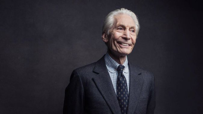 Charlie Watts of the Rolling Stones poses for a portrait on November 14, 2016, in New York. Watts' has died at age 80. (Photo / AP)