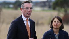 New NSW Premier Dominic Perrottet with his predecessor Gladys Berejiklian. (Photo / NCA NewsWire)